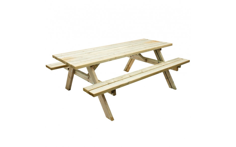 Deluxe Oblong Picnic Table