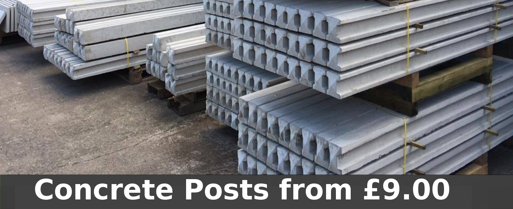 Concrete posts from cheap prices!