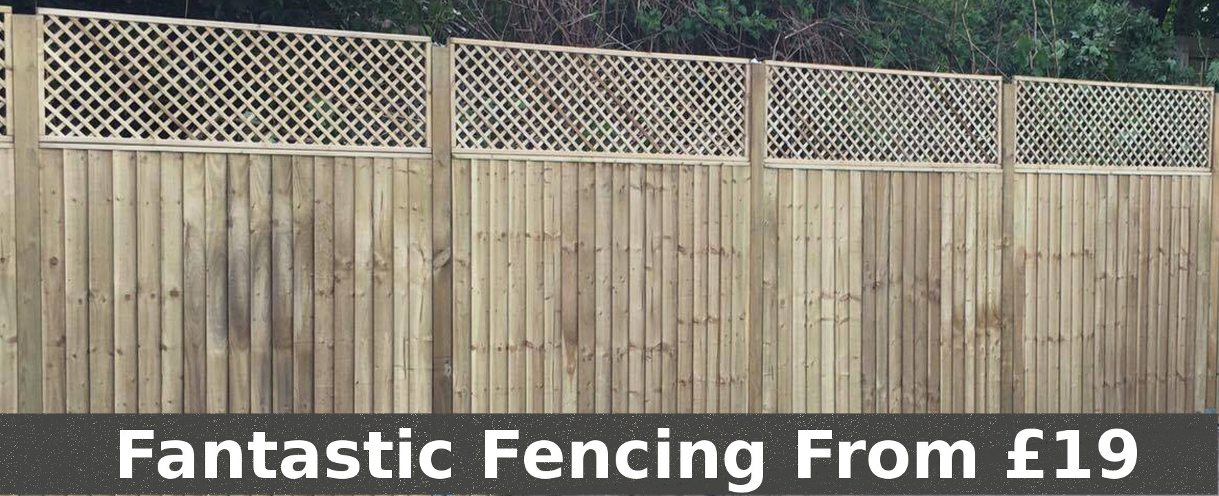 Fencing and Fence Panels from cheap prices!